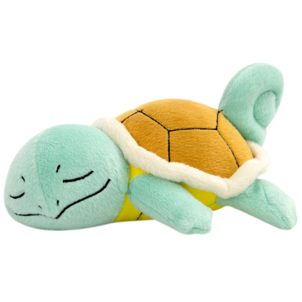 Pokemon Plush Figure Sleeping Squirtle 16 cm