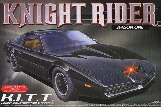 Knight Rider Model Kit 1/24 K.I.T.T. 2000 Pontiac Transam Season 1