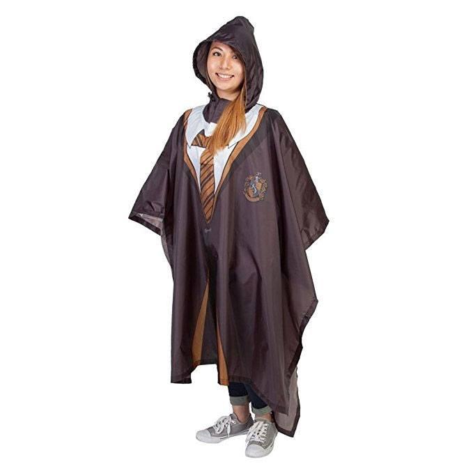 Harry Potter Rain Poncho Hufflepuff