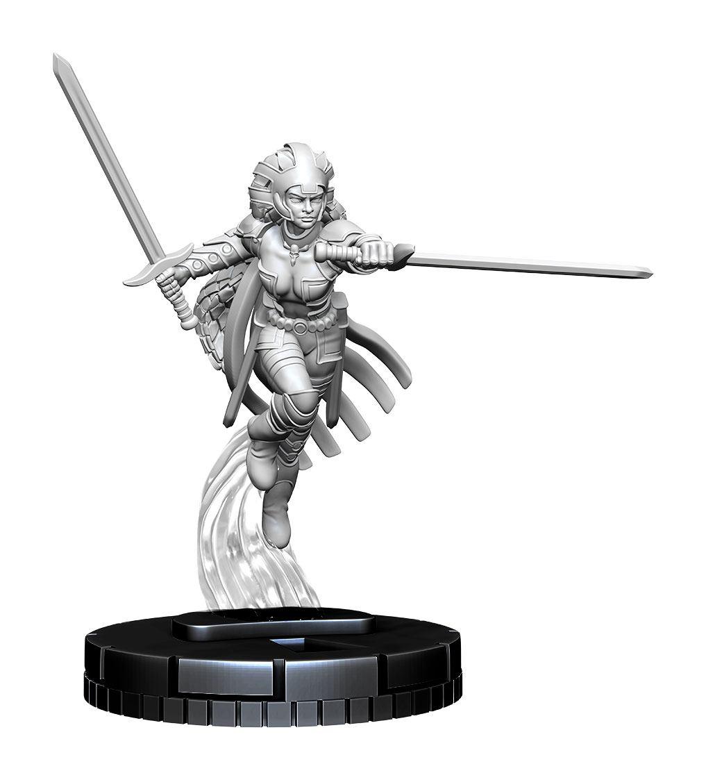 Marvel HeroClix Deep Cuts Unpainted Miniature Warbird Case (4)