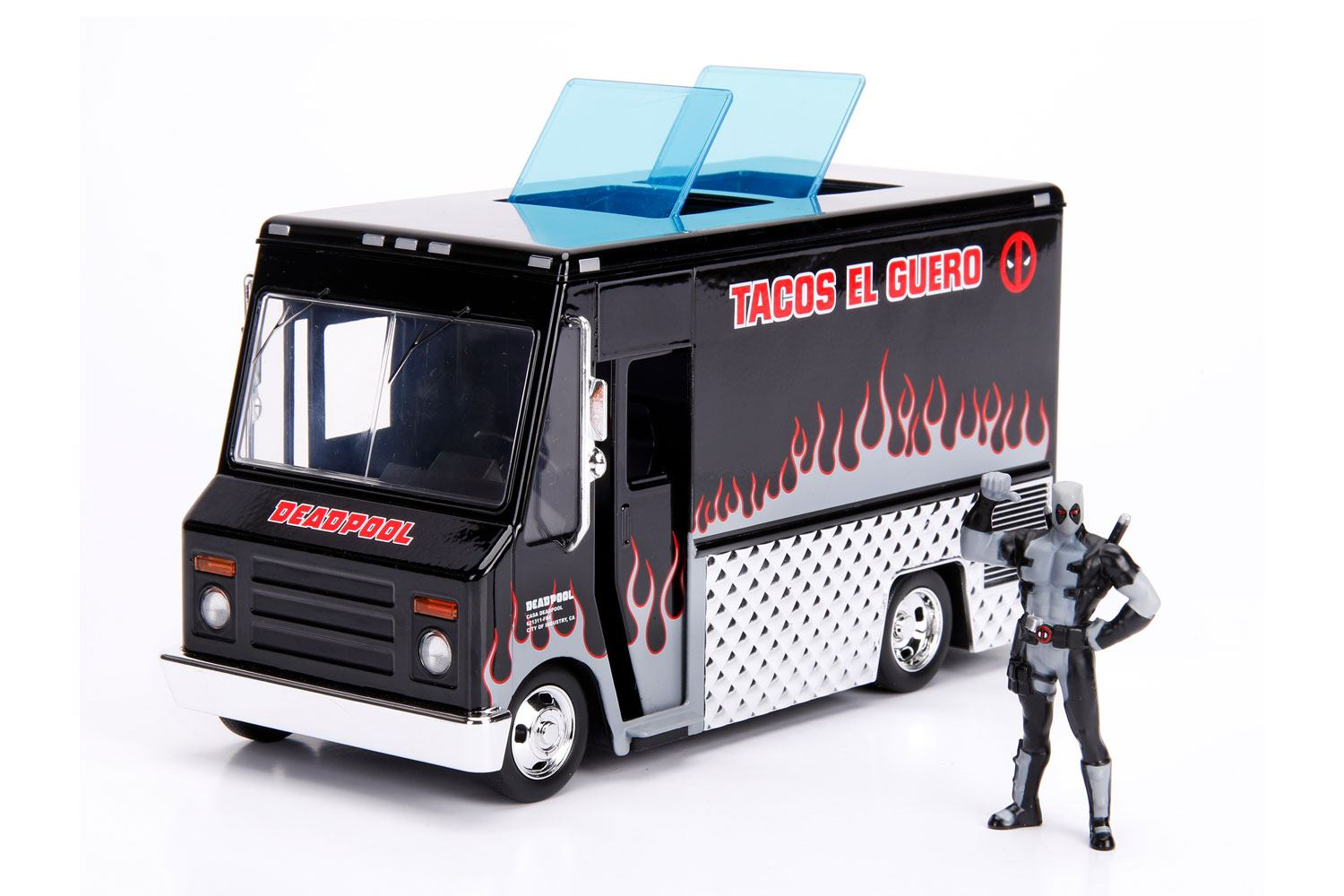 Deadpool Diecast Model 1/24 Deadpool Taco Truck X-Force Ver.