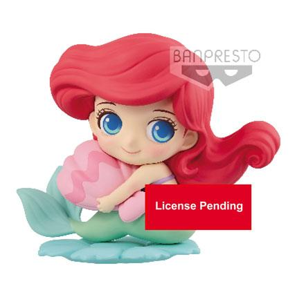 Disney Q Posket Sweetiny Mini Figure Ariel Milky Color Ver. 10 cm