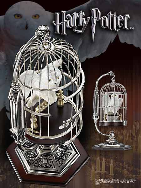 Harry Potter Miniature Hedwig and Cage