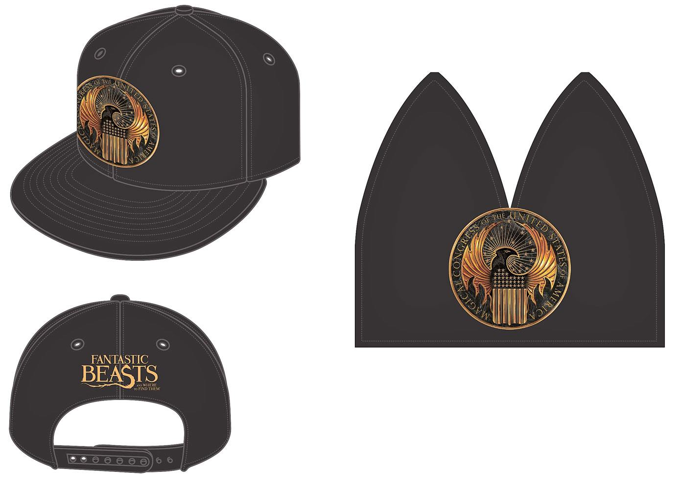 Fantastic Beasts Snap Back Cap Fantastic Beasts & Where To Find Them