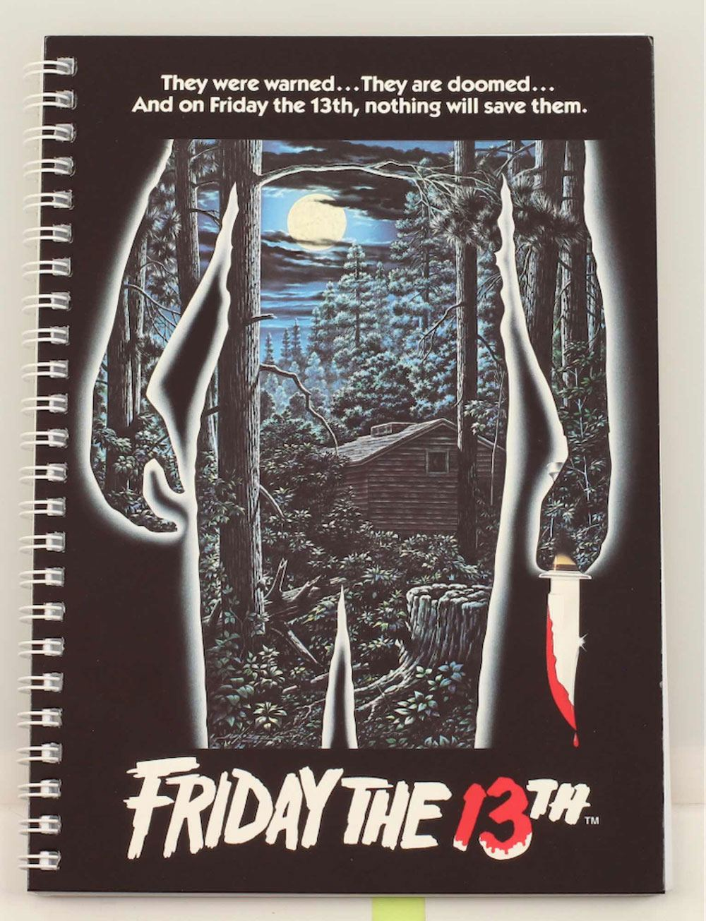 Friday the 13th Notebook Movie Poster