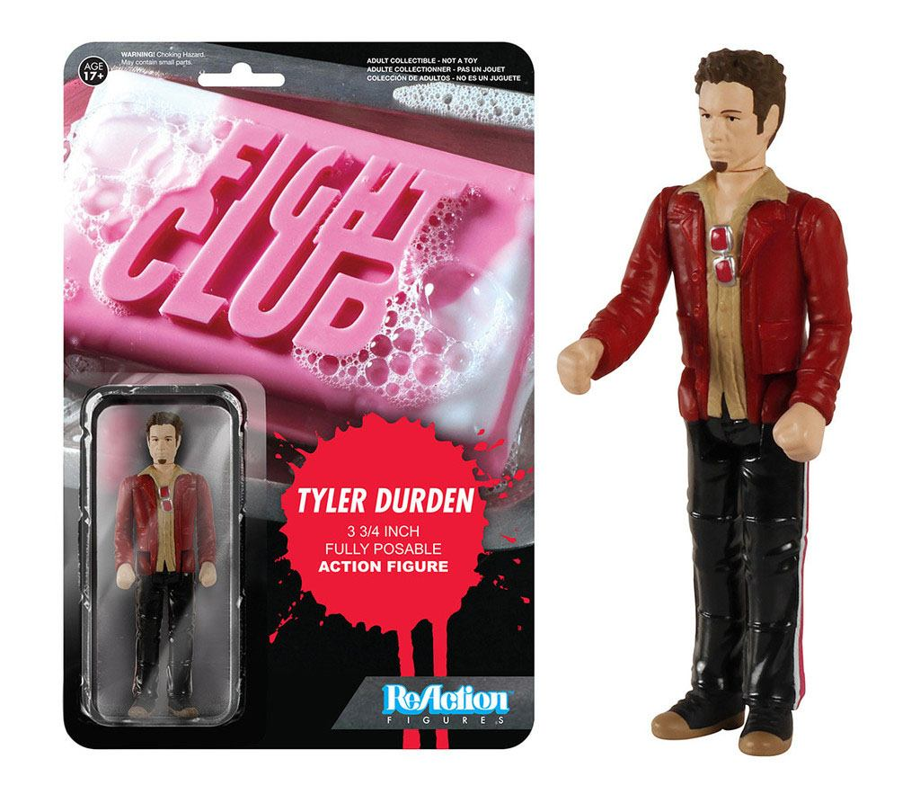 Fight Club ReAction Action Figure Tyler Durden 10 cm