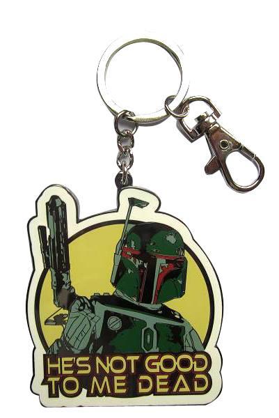 Star Wars Metal Keychain Boba Fett