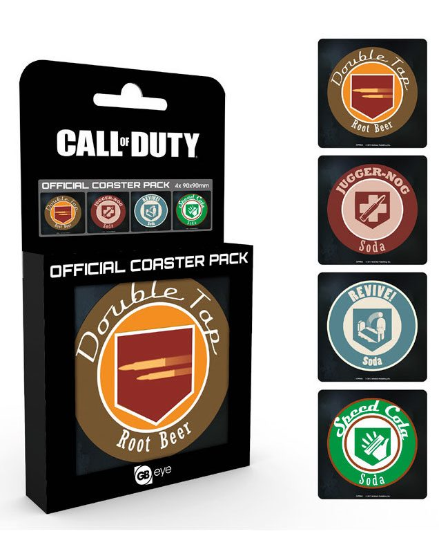 Call of Duty Coaster 4-pack Perks