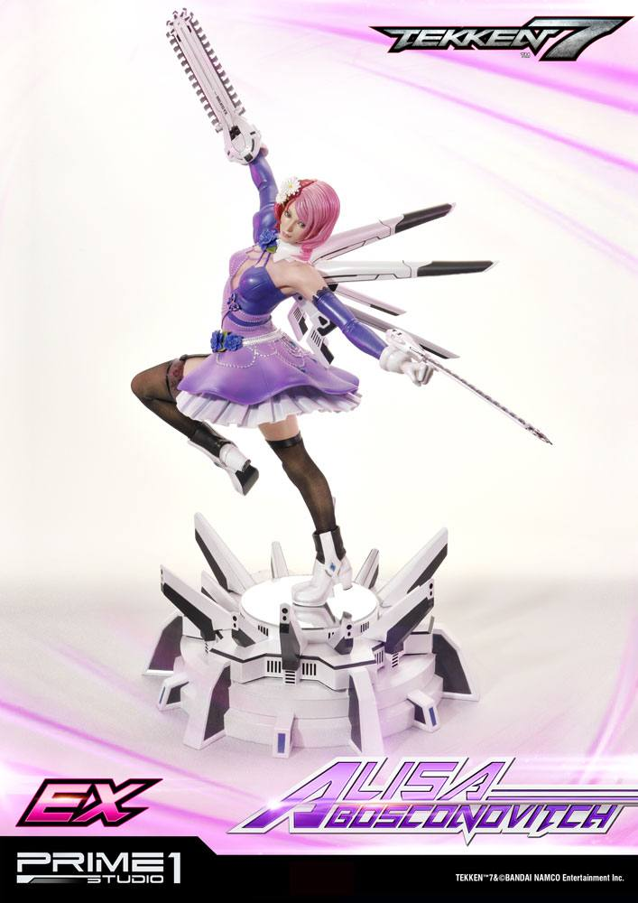 Tekken 7 Statues Alisa & Alisa Exclusive 59 cm Assortment (3)