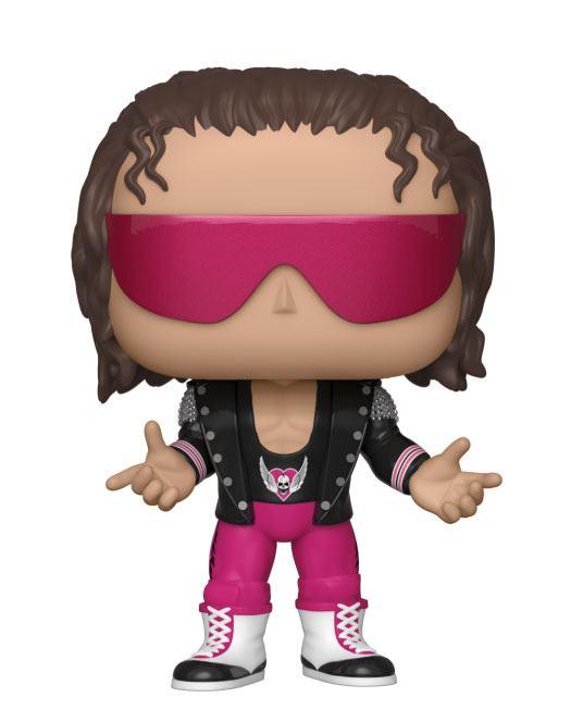 WWE POP! Vinyl Figure Bret Hart with Jacket 9 cm