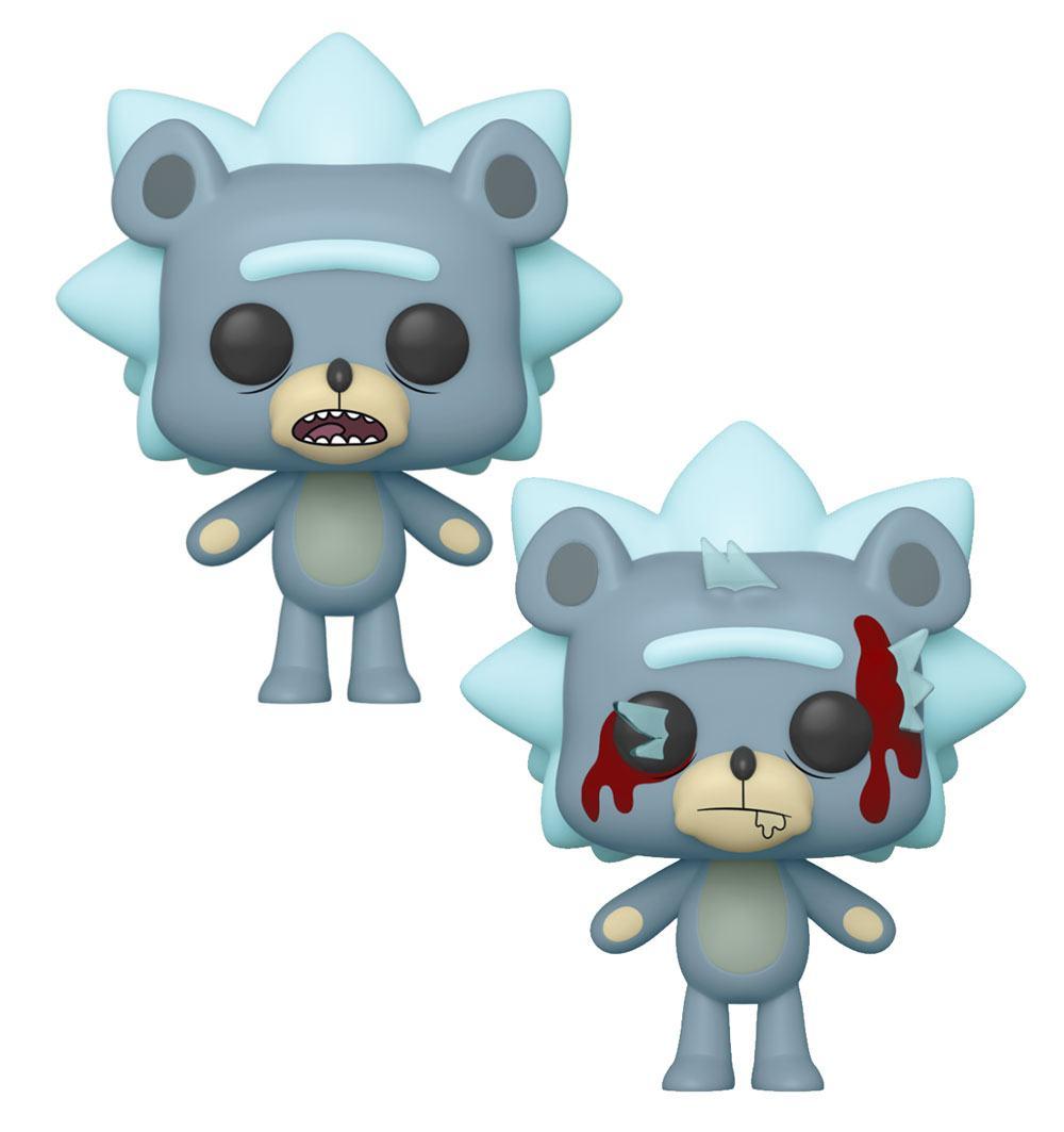 Rick and Morty POP! Animation Figures Teddy Rick 9 cm Assortment (6)