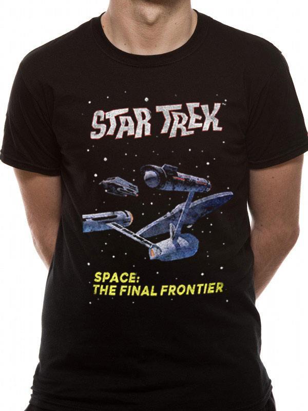 Star Trek T-Shirt Final Frontier Size M