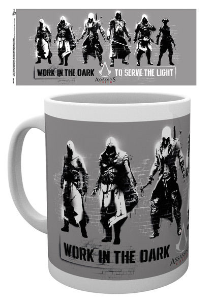 Assassin's Creed Mug Stencil