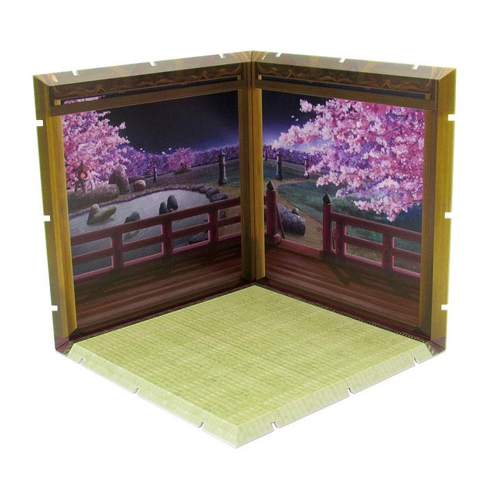 Dioramansion 150 Decorative Parts for Nendoroid and Figma Figures Cherry Blossoms at Night