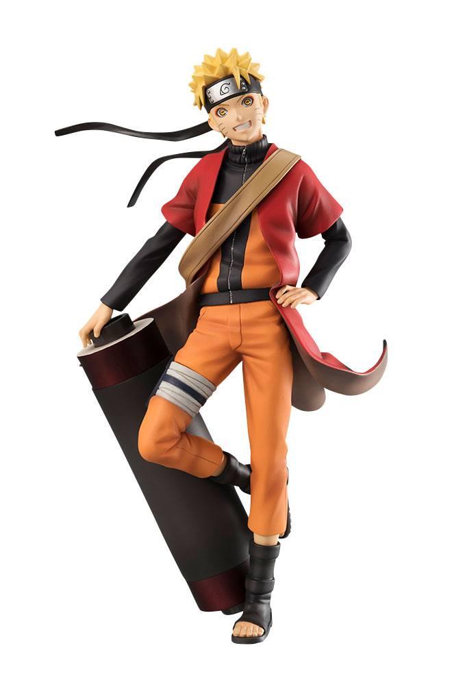 Naruto Shippuden G.E.M. Series PVC Statue 1/8 Naruto Uzumaki Sennin Mode 20 cm