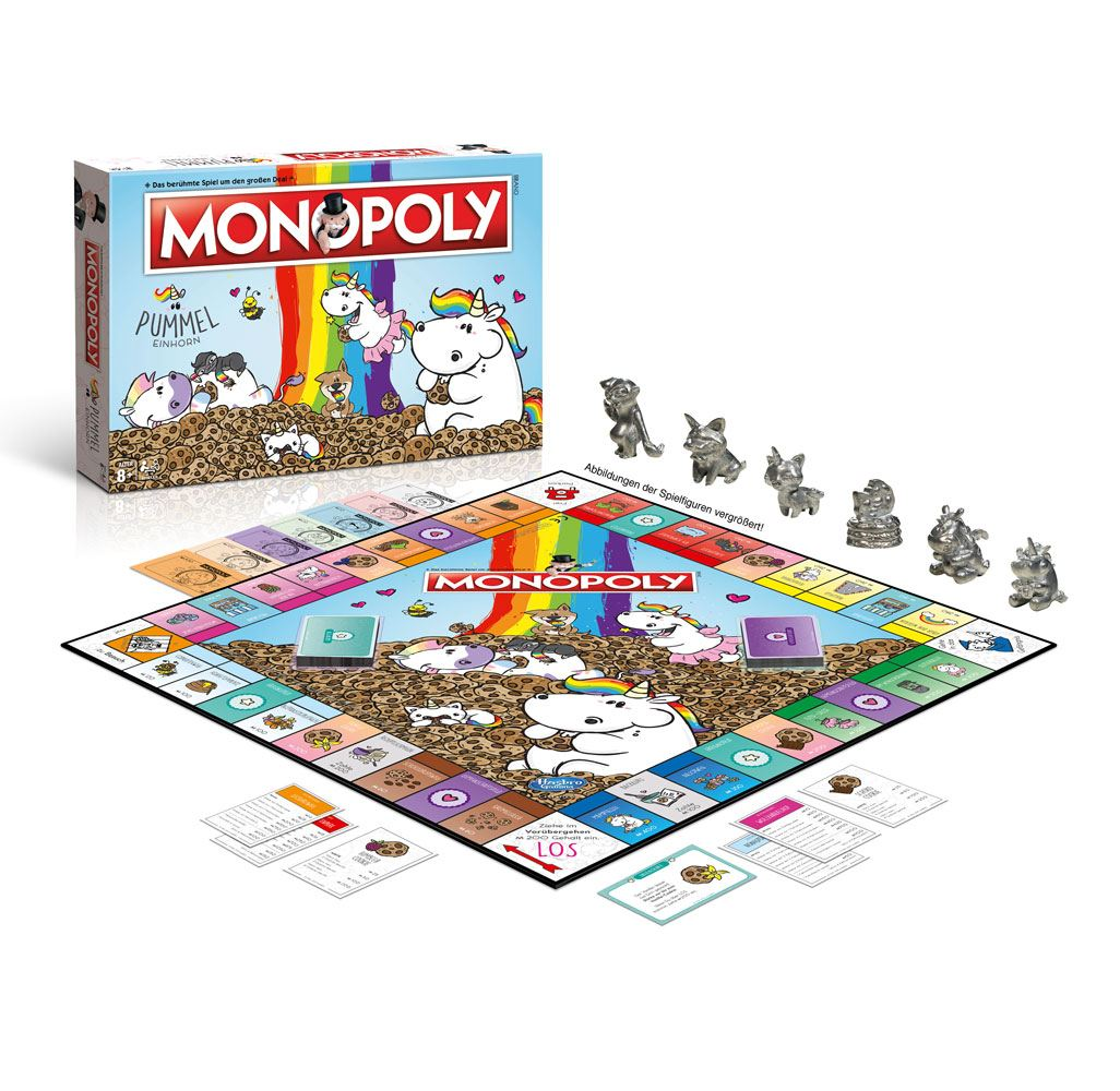Chubby Unicorn Board Game Monopoly *German Version*