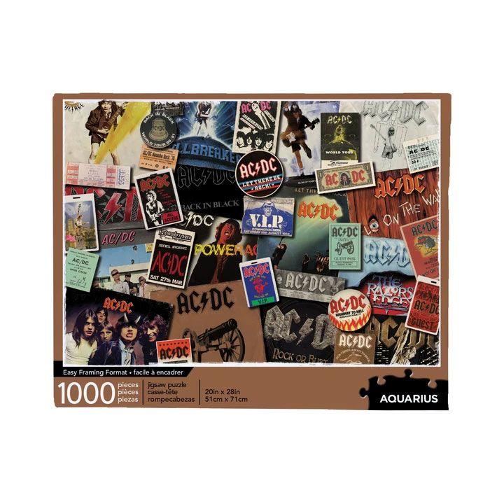 AC/DC Jigsaw Puzzle Albums (1000 pieces)