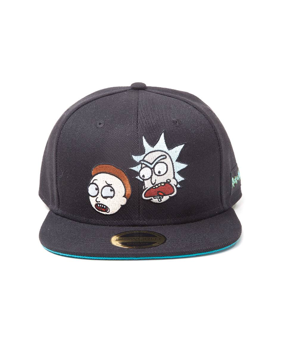 Rick & Morty Snapback Cap Big Faces