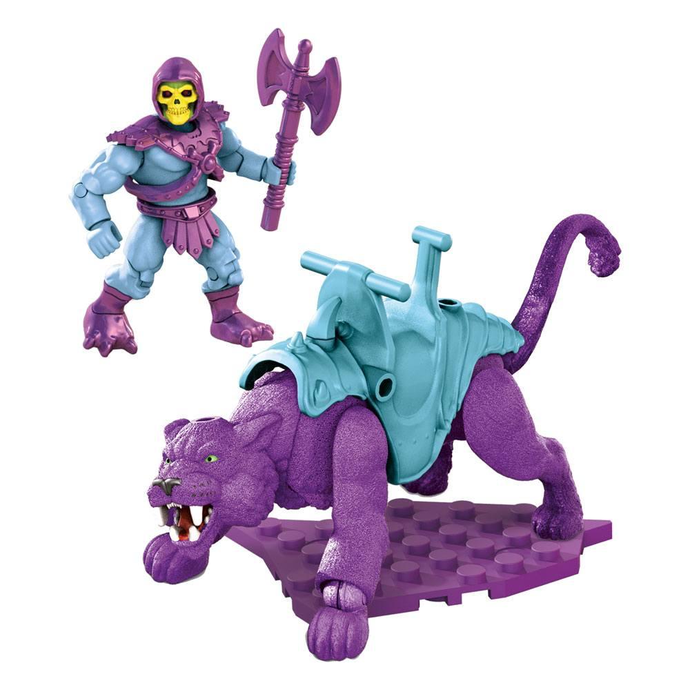 Masters of the Universe Mega Construx Probuilders Construction Set Skeletor & Panthor