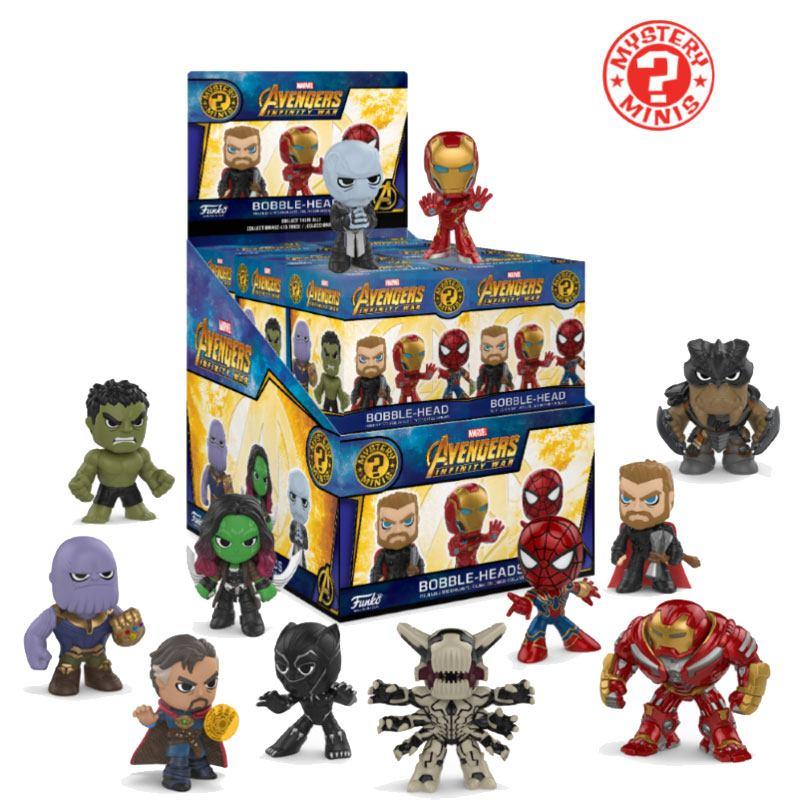 Avengers Infinity War Mystery Minis Vinyl Mini Figures 6 cm Display Classic (12)