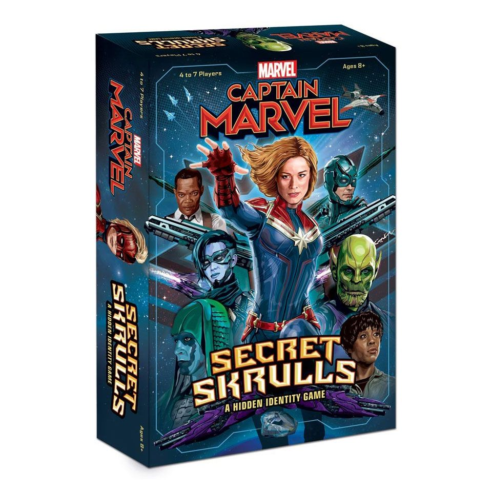 Captain Marvel Card Game Bang! Secret Skrulls *English Version*