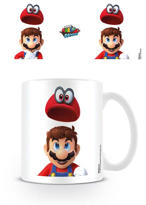 Super Mario Odyssey Mug Cap Pop Off