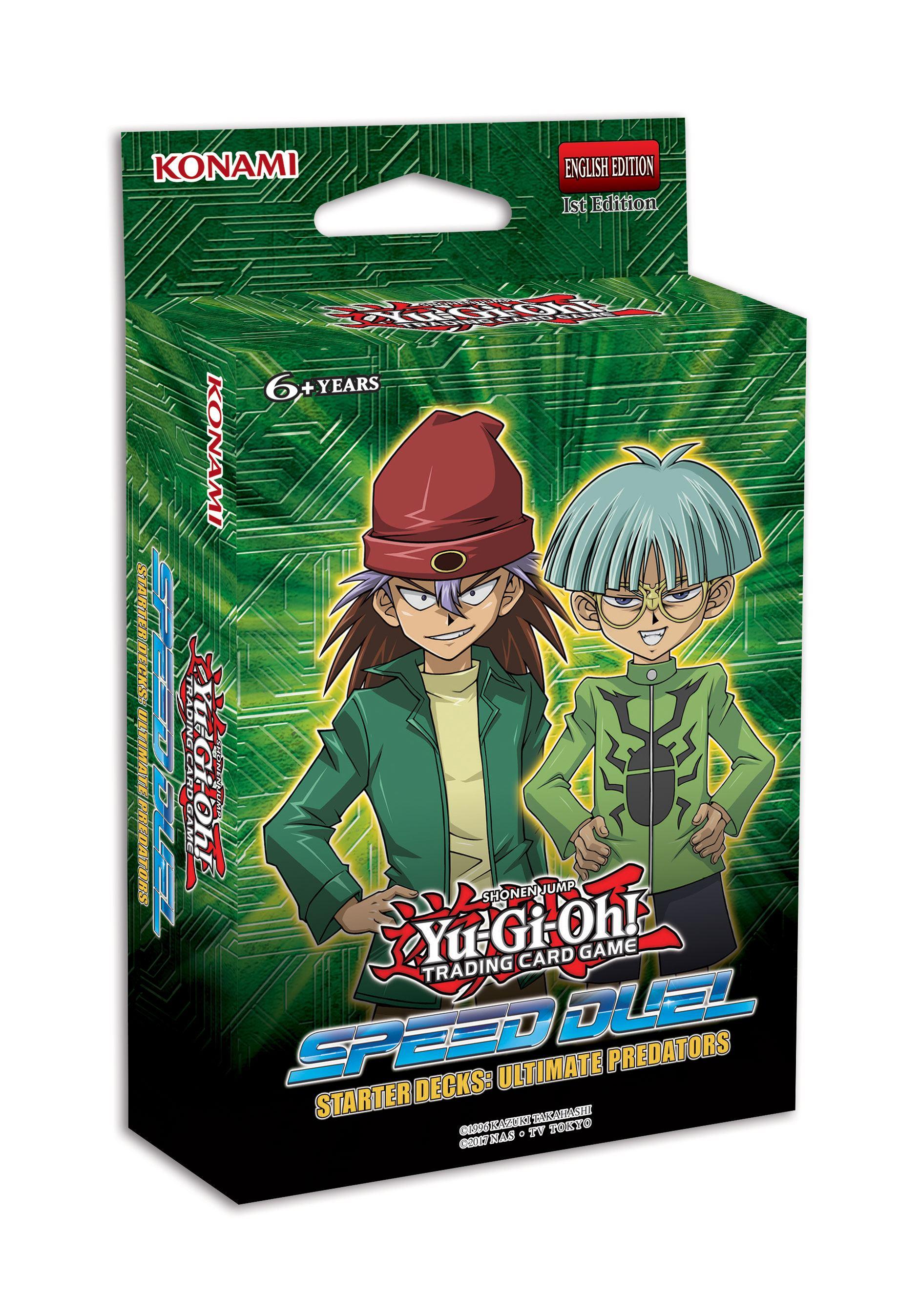 Yu-Gi-Oh! Speed Duel Starter Deck Ultimate Predators Display (10) *German Version*