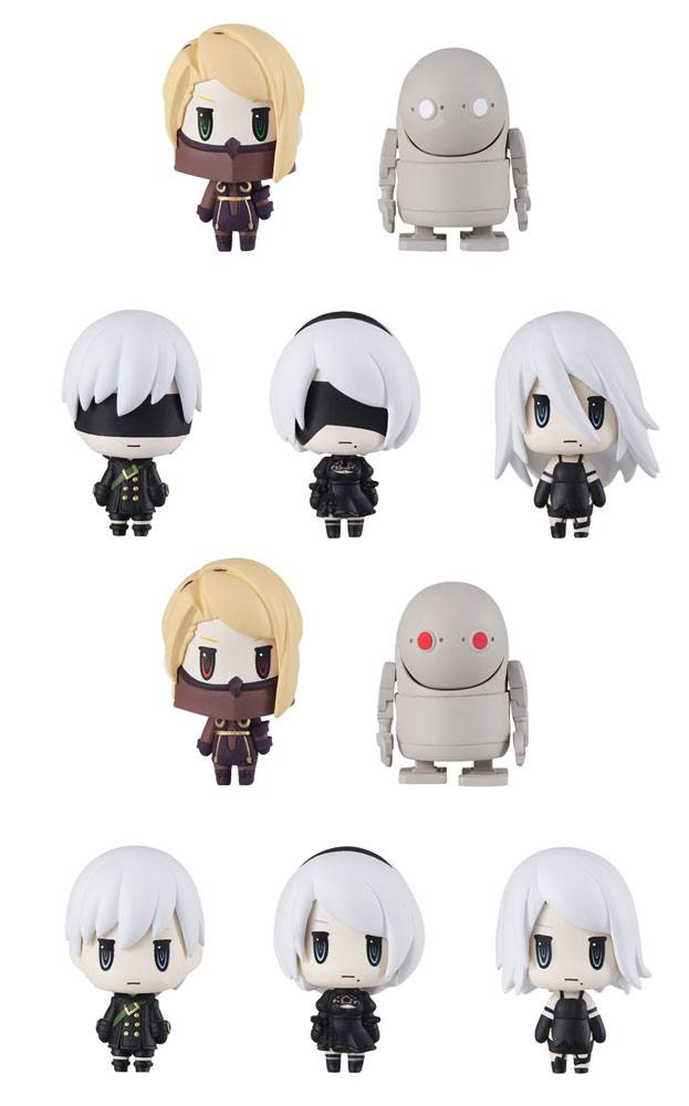 NieR Trading Arts Mini Figures 4 cm Assortment (10)