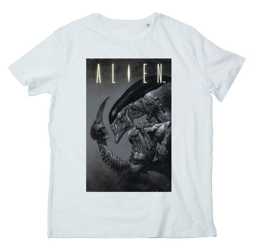 Alien T-Shirt Dead Head Size L
