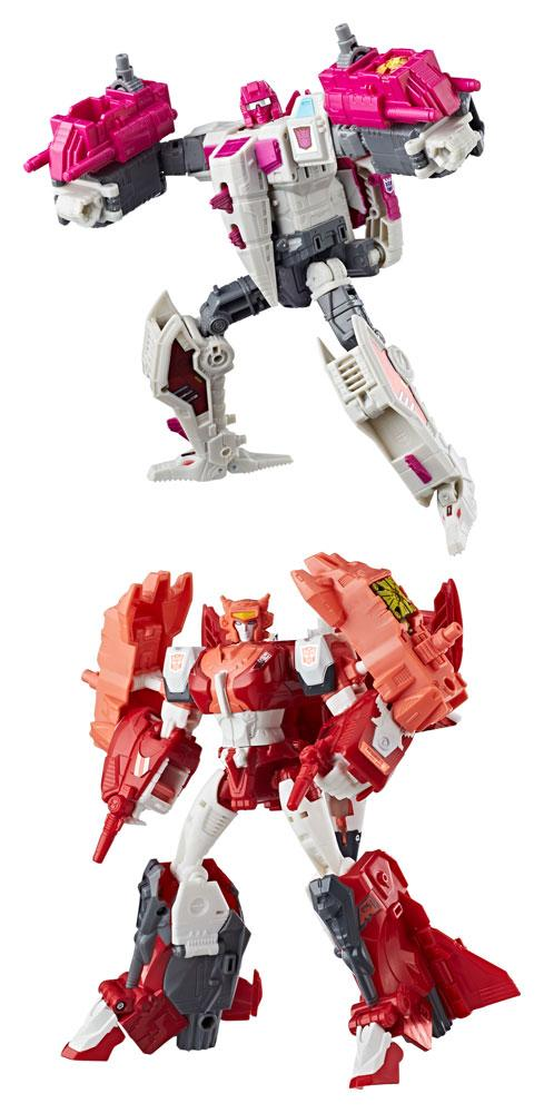 Transformers Generations Power of the Primes Action Figures Voyager Class 2018 Wave 2 Assortment (2)