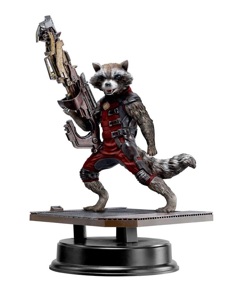 Guardians of the Galaxy Hero Vignette 1/9 Rocket Raccoon Red Suit Ver. 18 cm