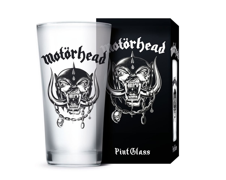 Motörhead Pint Glass Logo
