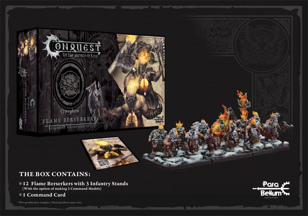 Conquest: The Last Argument of Kings Miniatures 12-Pack Dweghom: Flame Berserkers