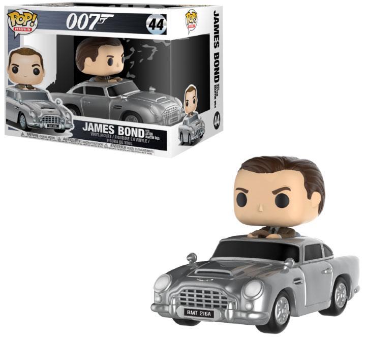 James Bond POP! Rides Vinyl Vehicle with Figure Sean Connery & Aston Martin 15 cm