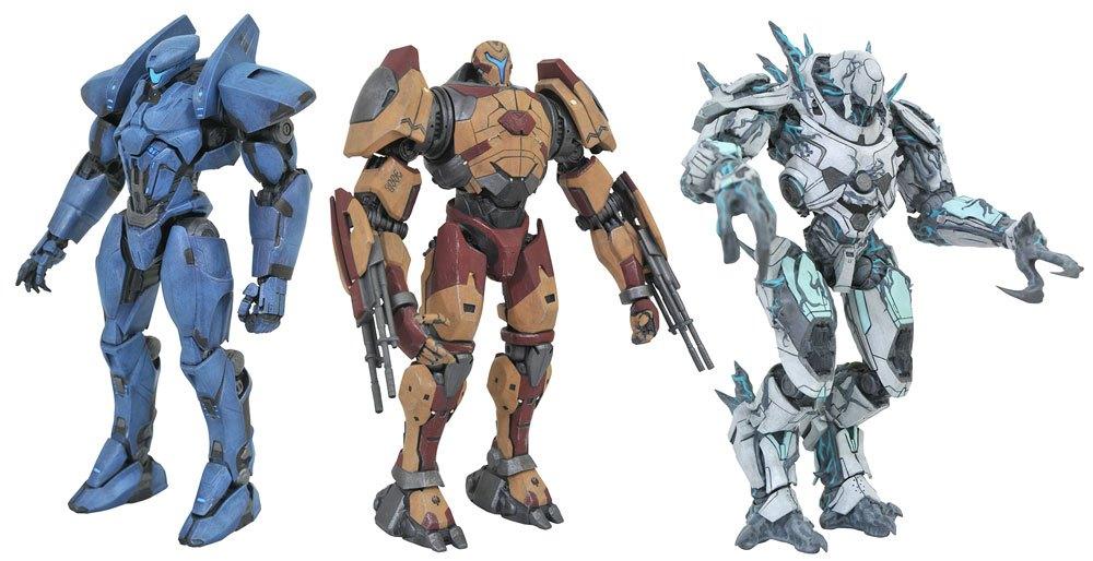 Pacific Rim Uprising Select Action Figures 18 cm Series 3 Assortment (6)