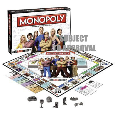The Big Bang Theory Board Game Monopoly *English Version*