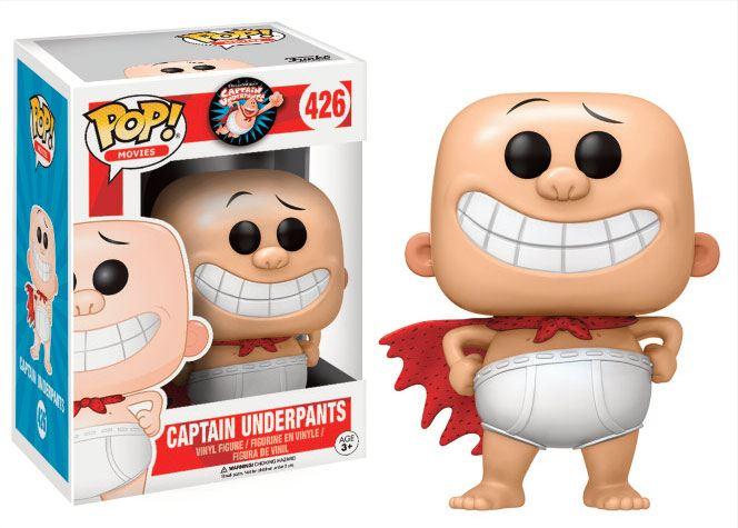 Captain Underpants POP! Movies Vinyl Figure Captain Underpants 9 cm