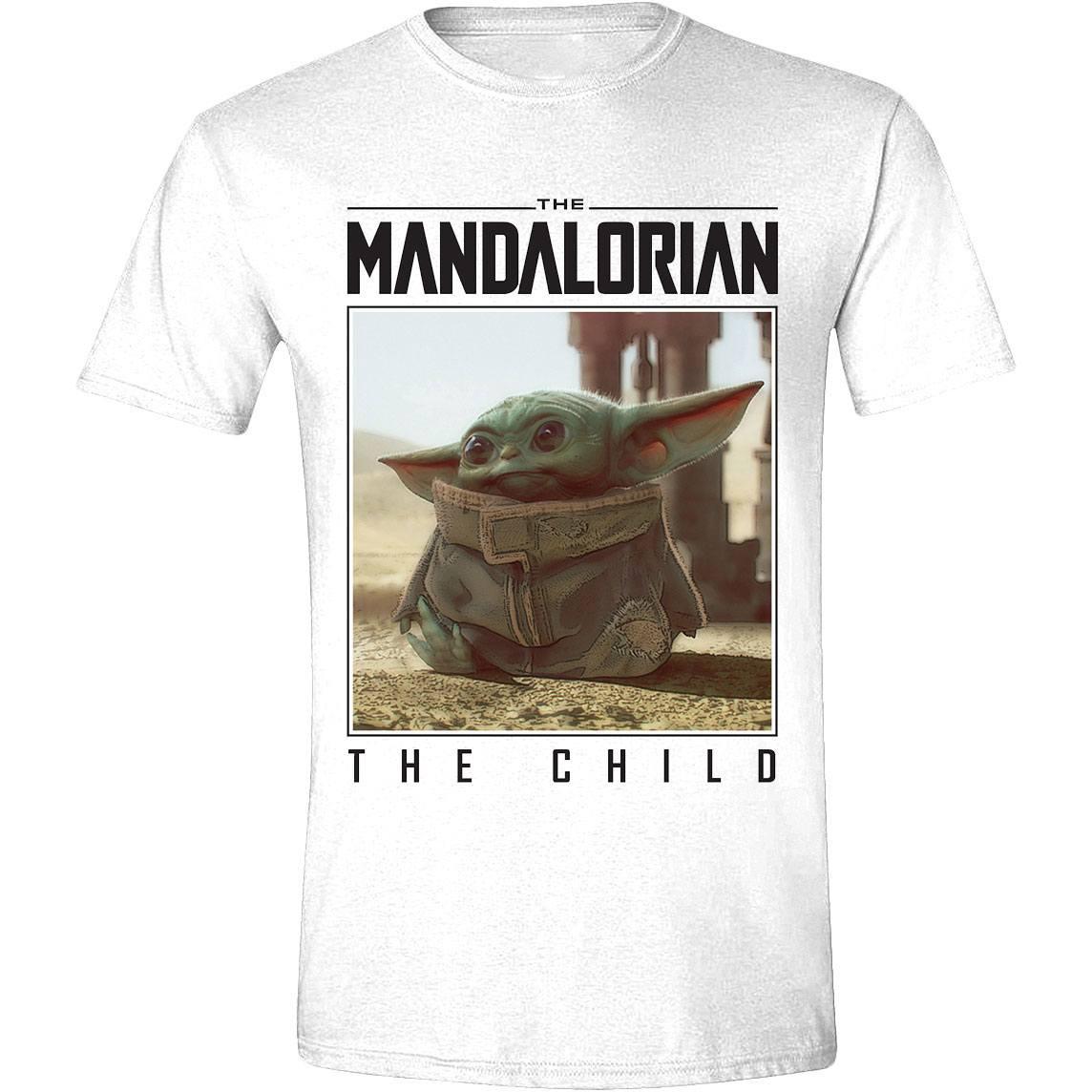 Star Wars The Mandalorian T-Shirt The Child Photo Size L