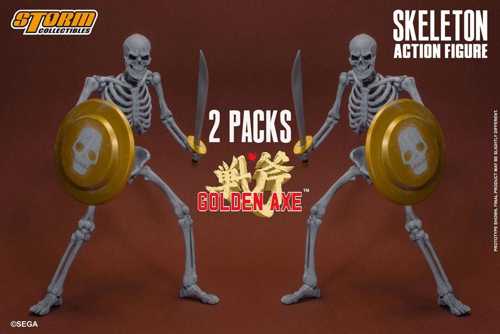 Golden Axe Action Figure 2-Pack 1/12 Skeleton 18 cm