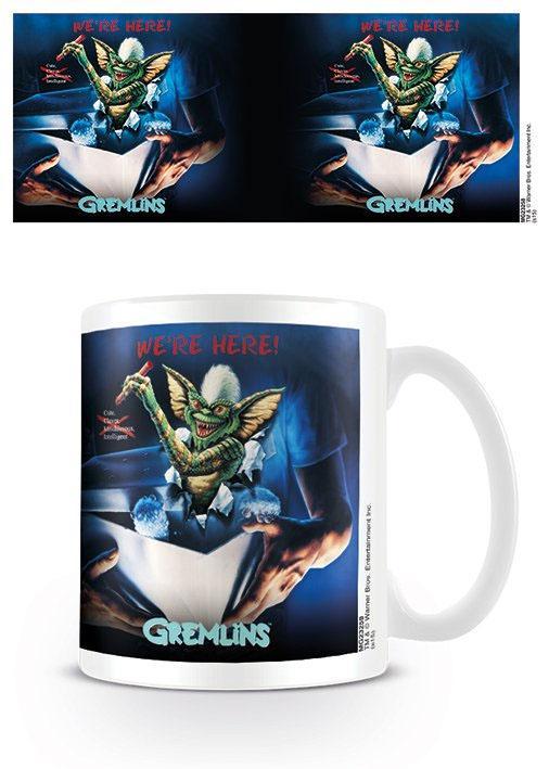Gremlins Mug We're Here