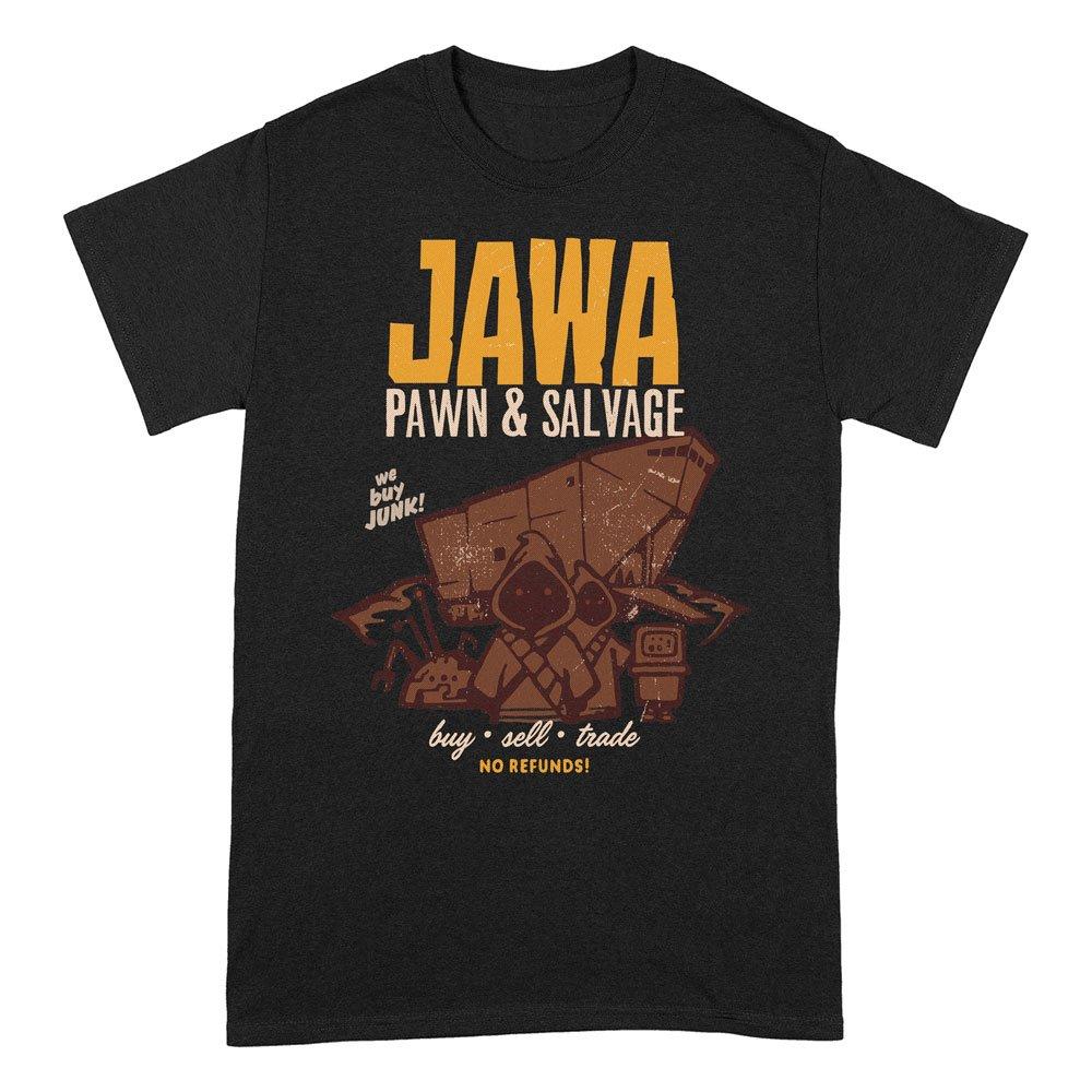 Star Wars T-Shirt Jawa Pawn & Salvage Size M