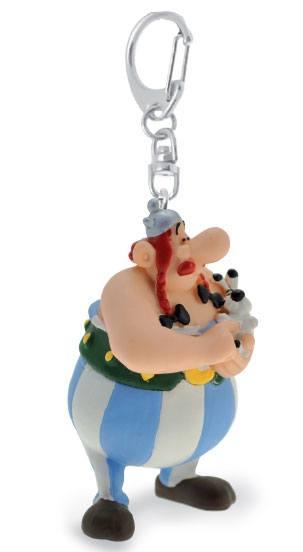 Asterix Keychain Obelix with Dogmatix 13 cm