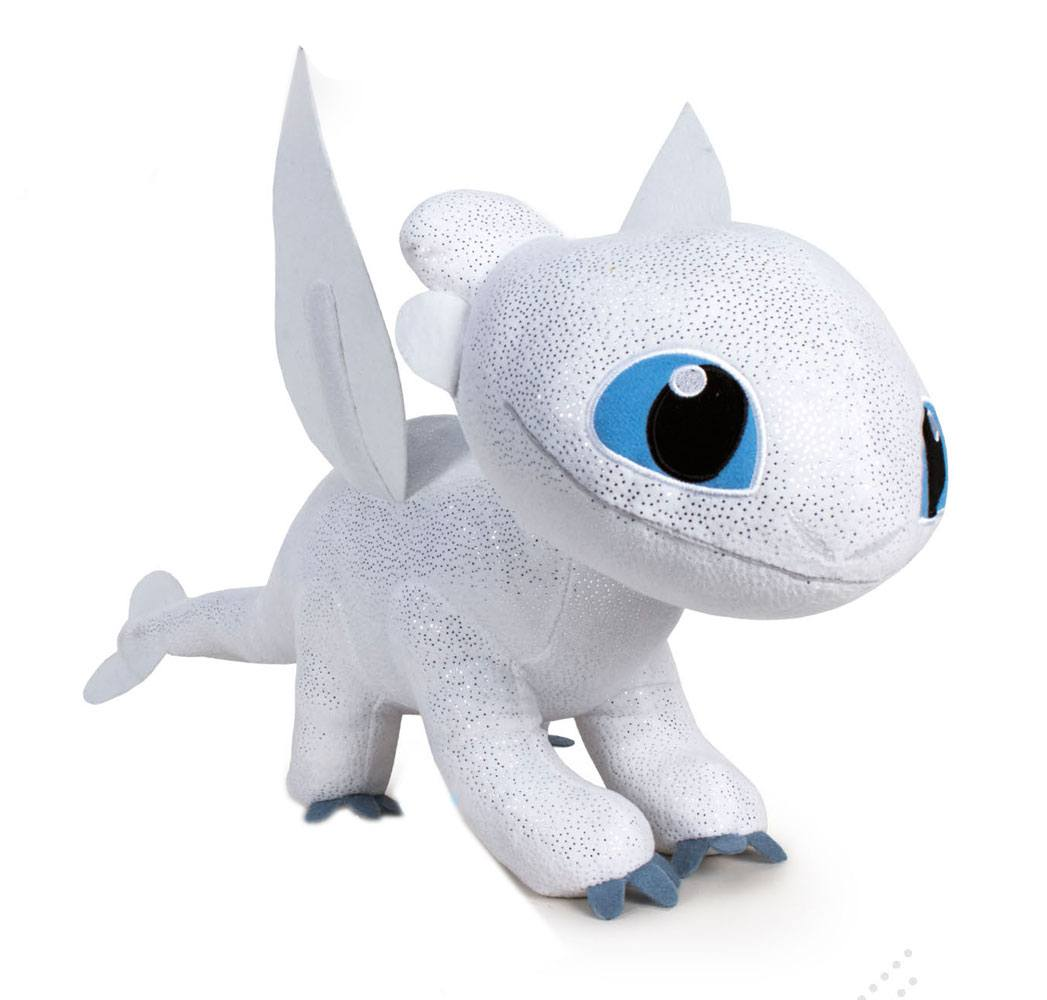 How to Train Your Dragon 3 The Hidden World Plush Figure Light Fury 60 cm