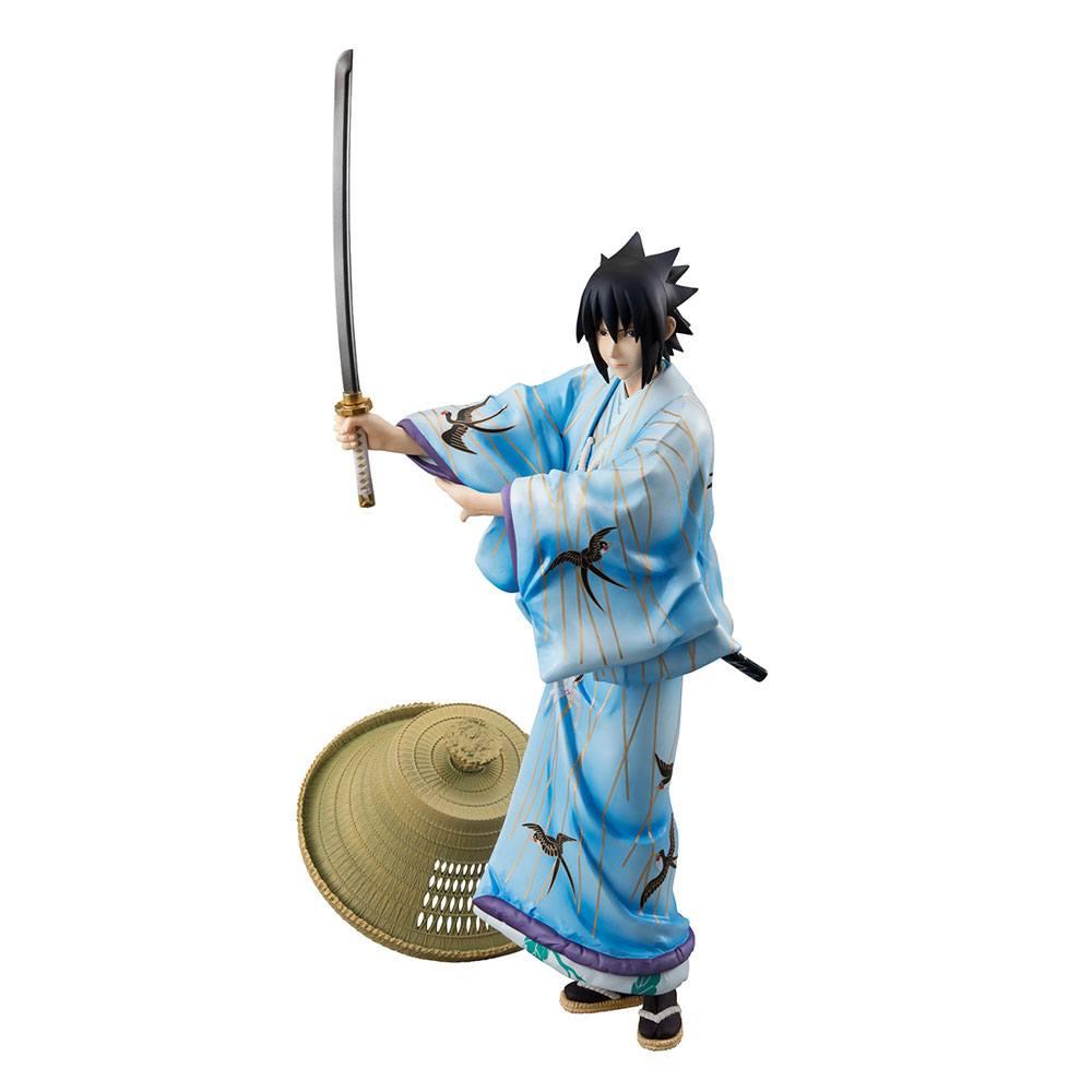 Naruto G.E.M. PVC Statue Sasuke Uchiha Kabuki Ver. 23 cm