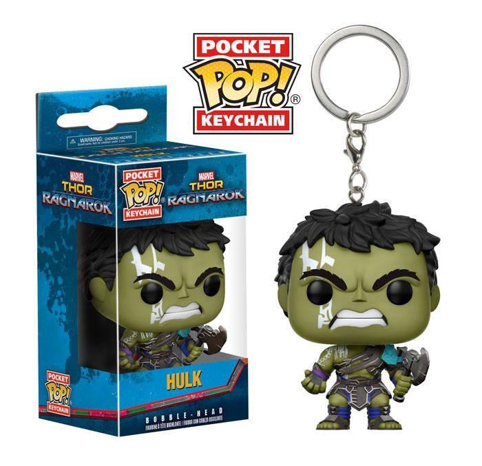 Thor Ragnarok Pocket POP! Vinyl Keychain Hulk (Gladiator Suit) 4 cm