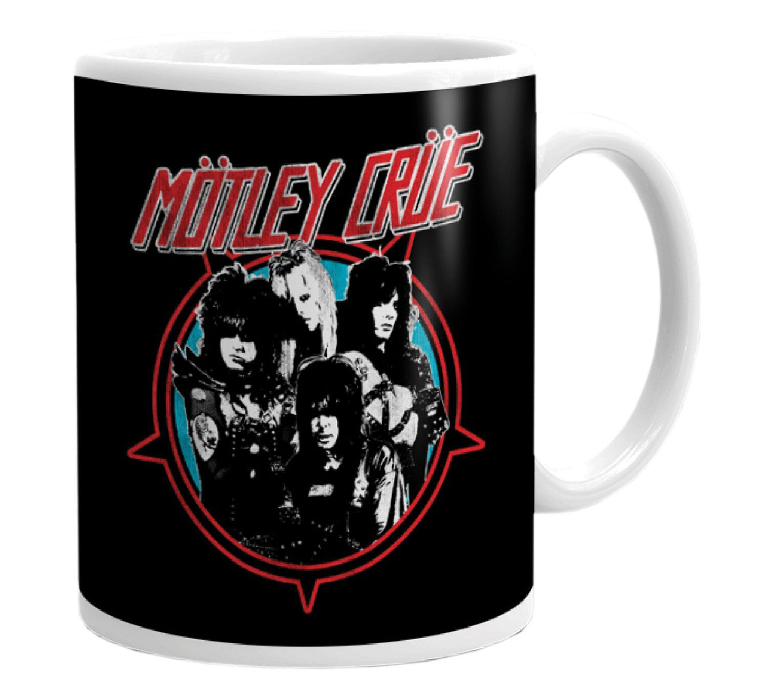 Mötley Crüe Mug Heavy Metal Power