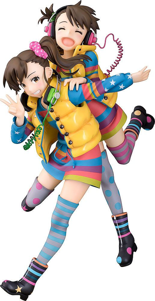 The Idolmaster Statue 1/8 Ami & Mami Futami 24 cm --- DAMAGED PACKAGING