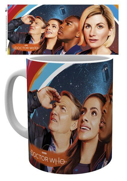 Doctor Who Mug Painting