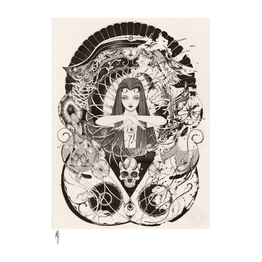 Peach Momoko Art Print Hakai & Saisei 41 x 51 cm - unframed