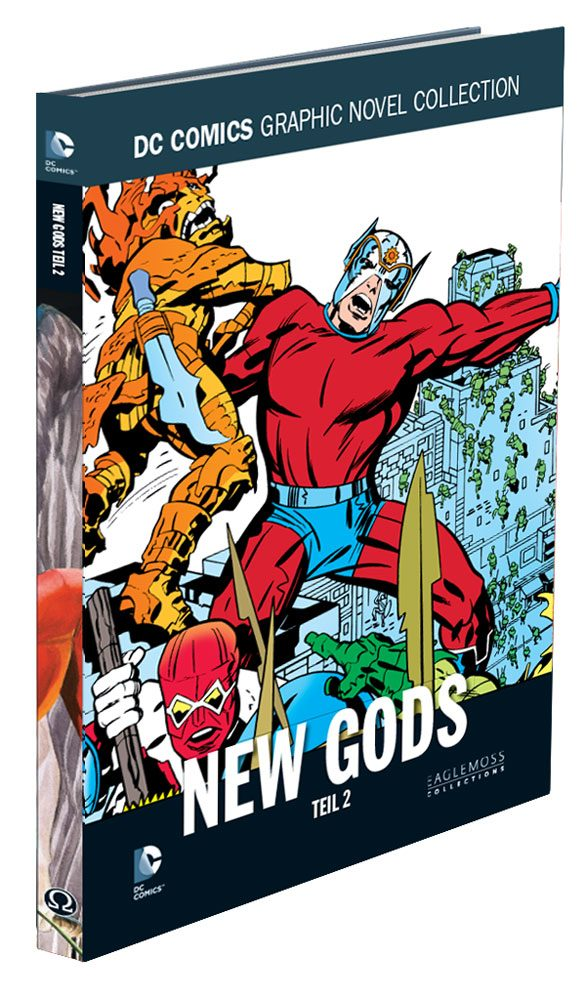 DC Comics Graphic Novel Collection #85 New Gods, Teil 2 Case (12) *German Version*